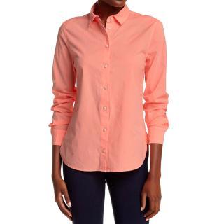 j BRAND orange shirt