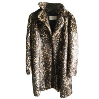Malene Birger leopard print coat