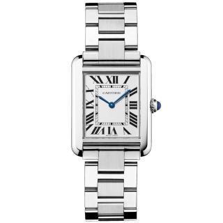 Cartier Tank Solo Steel Watch