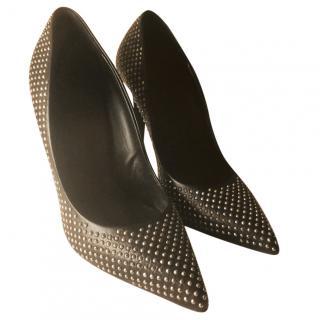 Giuseppe Zanotti black studded heels