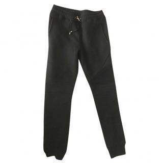 Balmain Skinny Black Biker Track Pants