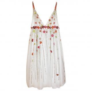 Jenny Packham Sequin Beaded Dress