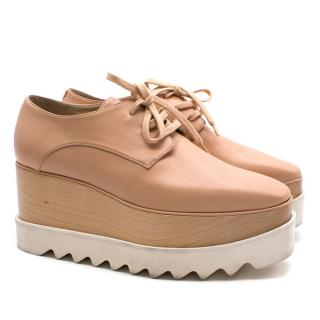 Stella McCartney Britt Lace-Up Platform Shoes