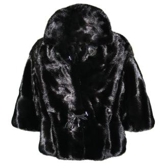 Saga Furs Real Mink Jacket