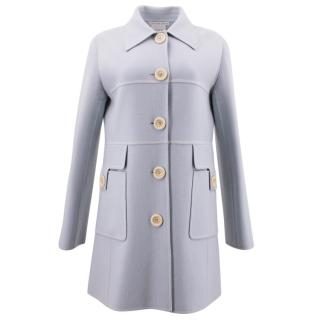 Celine Finition Main Wool Blend Pea Coat