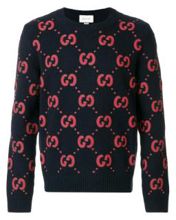 Gucci GG Animalium embroidered sweater
