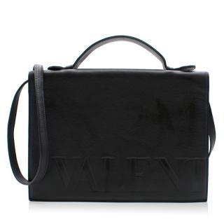 Valentino Logo Flap Bag