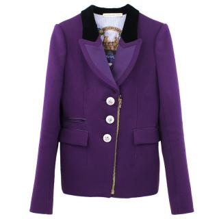 Balenciaga Wool Embellished Blazer