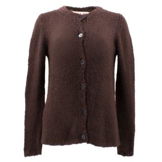 Marni Silk Button Up Cardigan