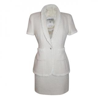 Chanel Sparkly Sequin Boucle suit