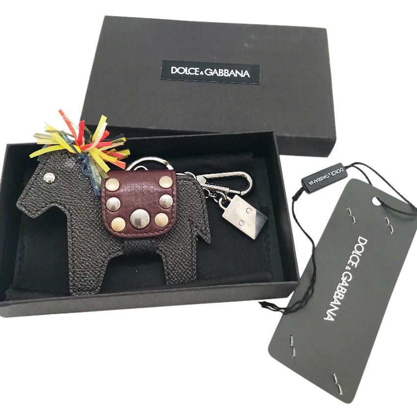 6c599cc867 Dolce Gabbana Sicily Horse Keyring Bag Charm128618