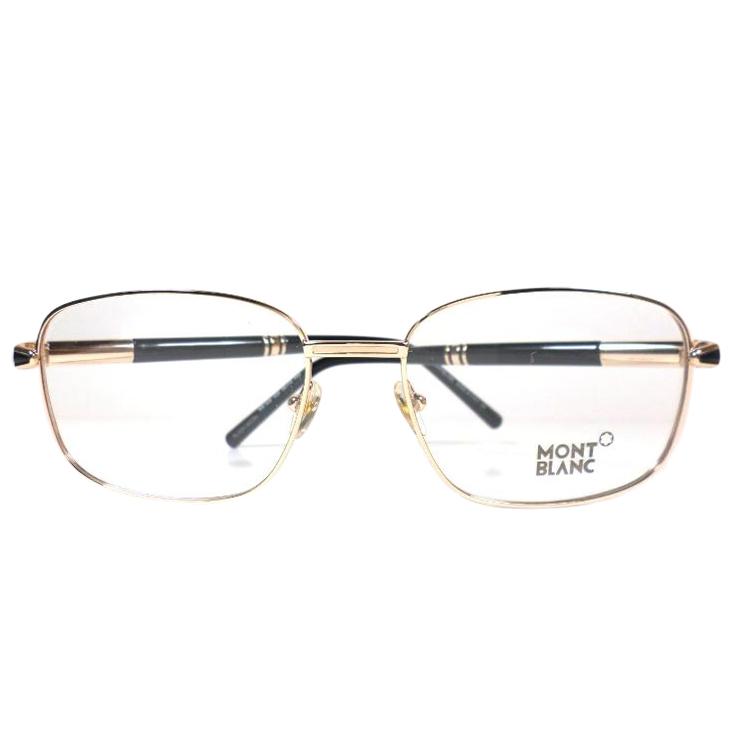 9f7323c499 Mont Blanc Glasses Frames Mb529 028 Rose Gold Black128630