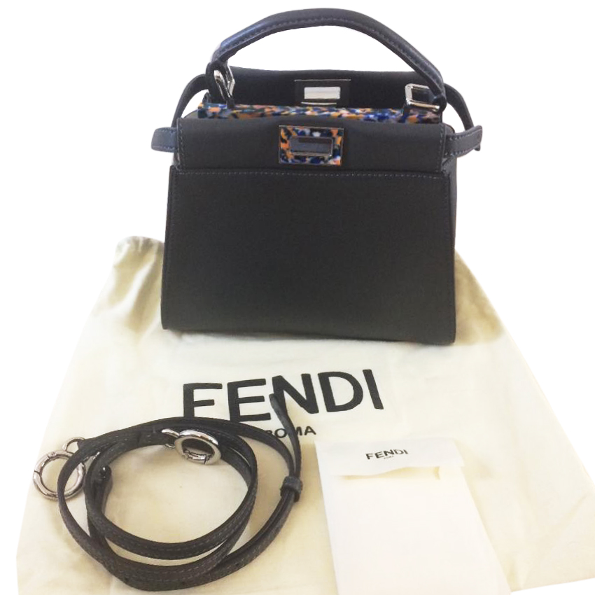 a52113747b0d Fendi Peekaboo Mini Bag