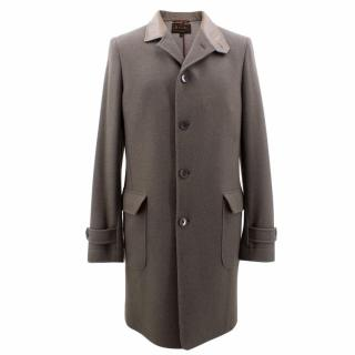 Loro Piana Grey Cashmere Coat