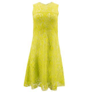 Joseph Floral Lace Dress