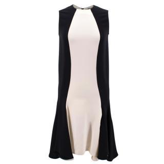 Stella McCartney Black and White Shift Dress