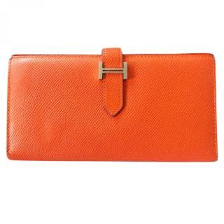 Hermes Epsom Bearn Gusset wallet