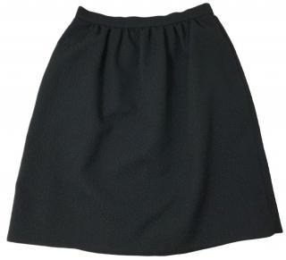 Erdem Black Kitty Skirt