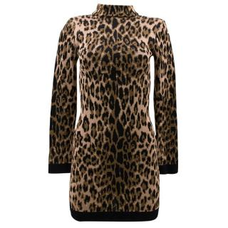 Balmain Leopard Dress