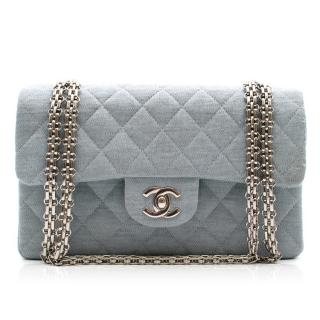 Chanel Jersey Small Double Flap Bag