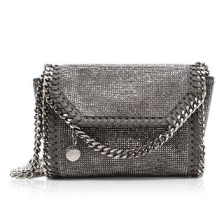 Stella McCartney Falabella Crystal Fold Over Bag
