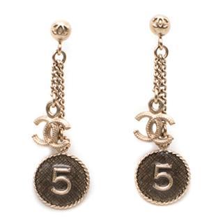 Chanel No. 5 CC Drop Earrings