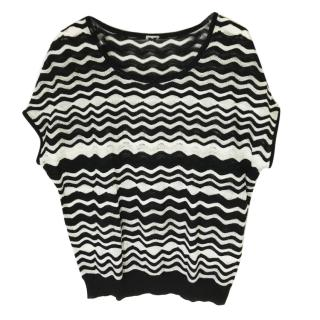 M Missoni Knit Oversize Top