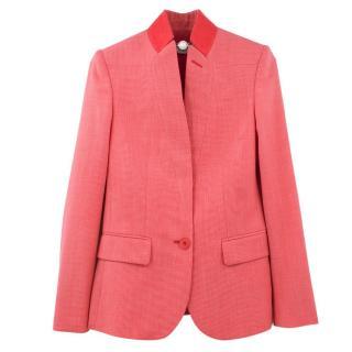 Stella McCartney Pink Wool Blazer