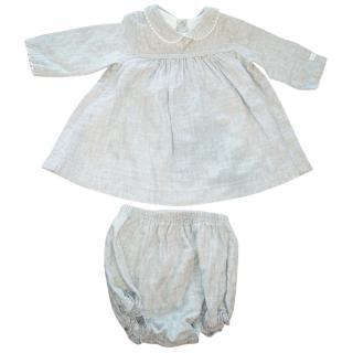 Petit Bateau Grey Dress