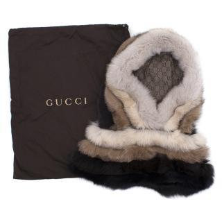 Gucci Greenland Fox Hood