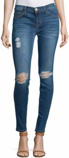 CURRENT/ELLIOTT the ankle skinny Blakely Destroy blue jeans