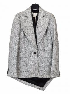 Antonio Berardi jacquard long tail jacket