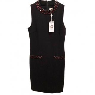 Michael Kors jewelled black dress