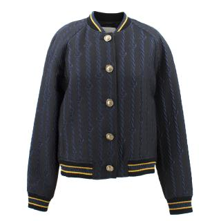 3.1 Phillip Lim Navy Bomber Jacket