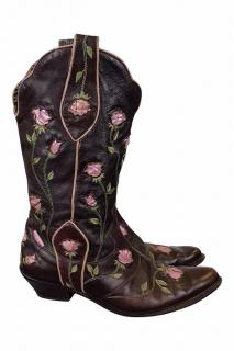 Roberto Cavalli Western Boots