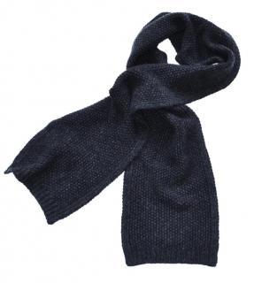 Ralph Lauren Black Label black cashmere scarf