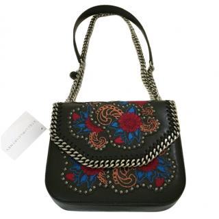 Stella McCartney Embroidered Falabella box bag