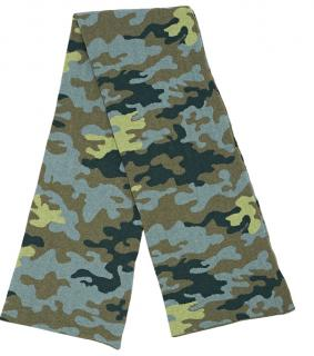 Christopher Kane Cashmere Camouflage Padded Scarf