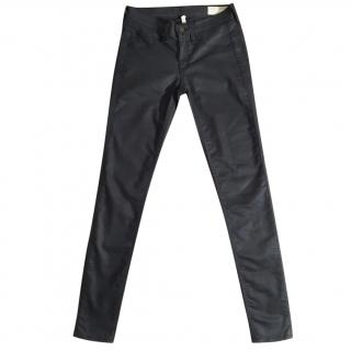 RAG & BONE Shoreditch charcoal skinny stretchy legging jeans
