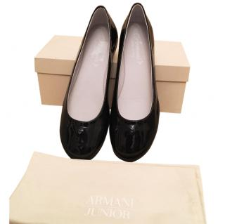 ARMANI Junior ballerina shoes brand new