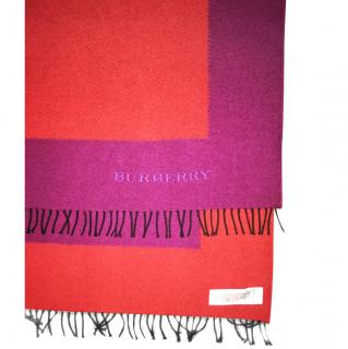 Burberry cashmere scarf new
