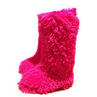 Dolce&Gabbana Wool runway boots