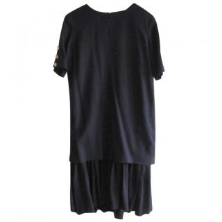 Jaeger flapper style wool dress