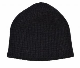 Ralph Lauren Black Label ribbed charcoal wool hat