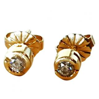 Diamond Stud earrings 18ct gold 0.30ct