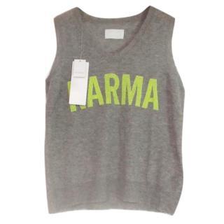 Zadig & Voltaire Grey 'Karma' Cashmere Jumper