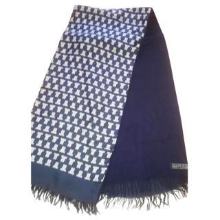 Lanvin cashmere and silk scarf