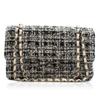 Chanel Tweed Double Flap Bag