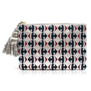 Anya Hindmarch Carrefour Logo Pouch