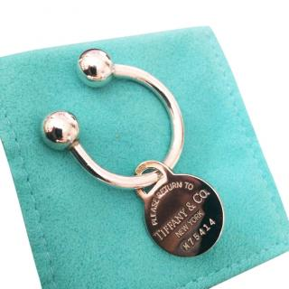 Tiffany & Co Round Tag Keyring